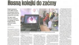 Kolejki w Polsce na zaćmę stale rosną
