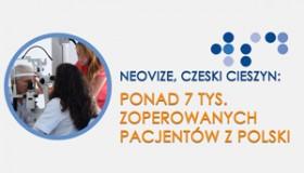 Ponad 7 tys. zoperowanych pacjentów z Polski