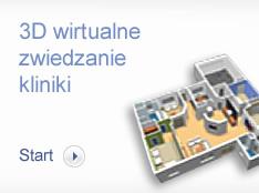 3D wirtualne zwiedzanie kliniki