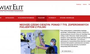 Ponad 7 tys. Polaków zoperowało zaćmę w NeoVize
